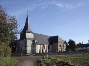 MartainvilleEglise communeaute de communes LPA Lieuvin Pays d'Auge